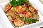 Prawn and Noodle Stir Fry